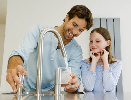 Drinking Water from your Faucet - Culligan