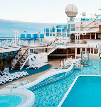 swimming pool for cruise ship - Culligan