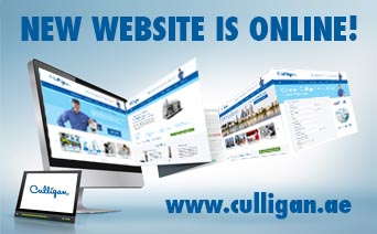 Culligan Middle East New Website is online - Culligan
