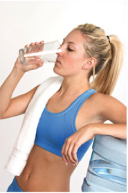 Health Club drinking water